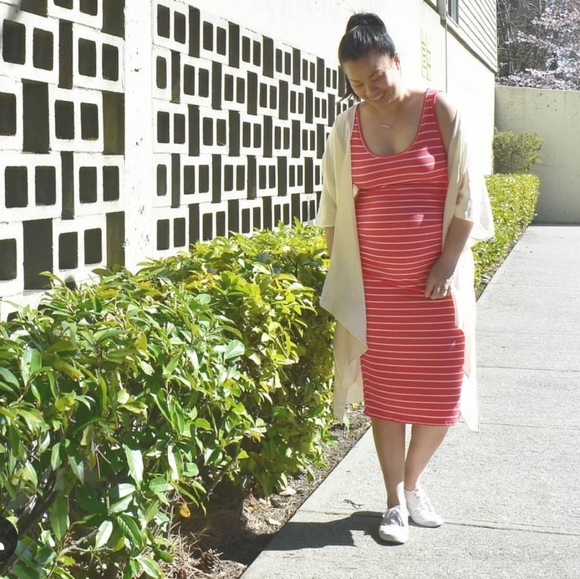 Pinkblush Dresses & Skirts - Maternity Body con dress